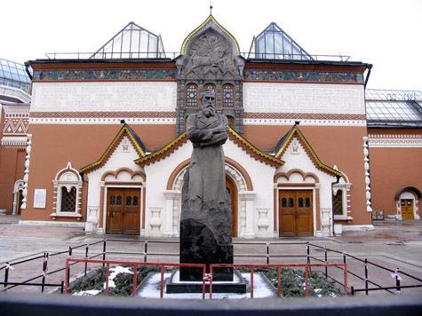 Одним из экспонатов Третьяковки станет вид на Кремль