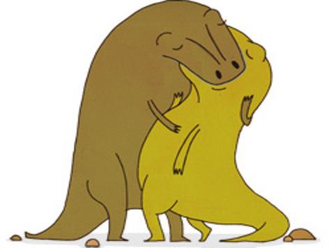 Ученые продемонстрировали то, как динозавры занимались сексом. ВИДЕО