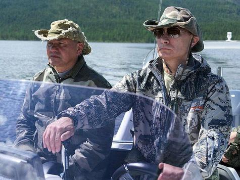 Душевный уик-энд Путина и Медведева