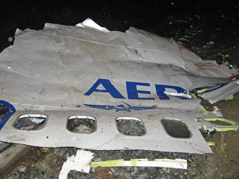 Возобновлено расследование крушения самолета под Пермью в 2008 году