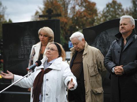 В Москве открыли памятник актеру Невинному