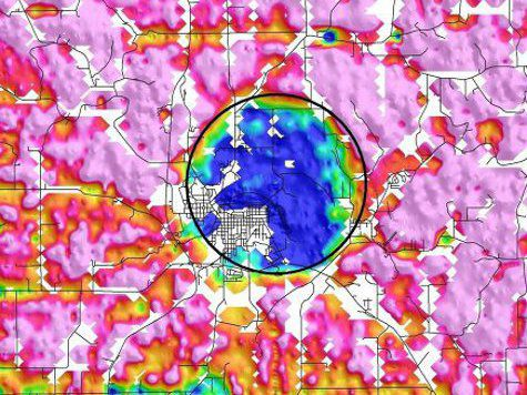 Американцы нашли в своей Айове пятикилометровый метеоритный кратер