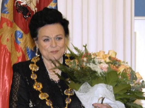 Людмила Зыкина даст школе имя и памятник