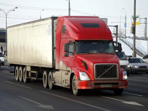 За въезд на МКАД водители грузовиков заплатят пять тысяч