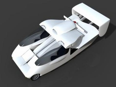Представлен электроконцепт спортивного трансформера Carplane