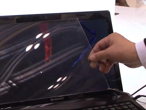 Придумана пленка, которая при наклеивании ее на любой дисплей, превращает все в 3D