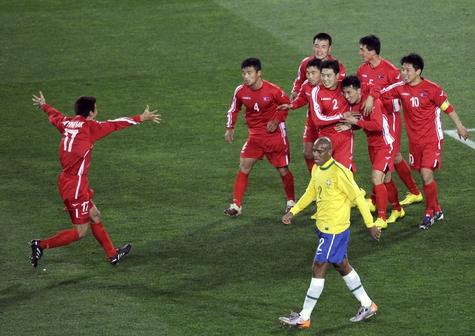 Корейские футболисты-призраки