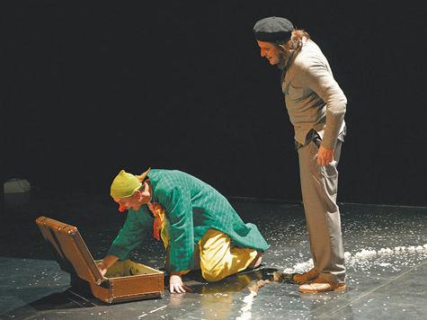 В Москве начали показывать представление для годовалых карапузов