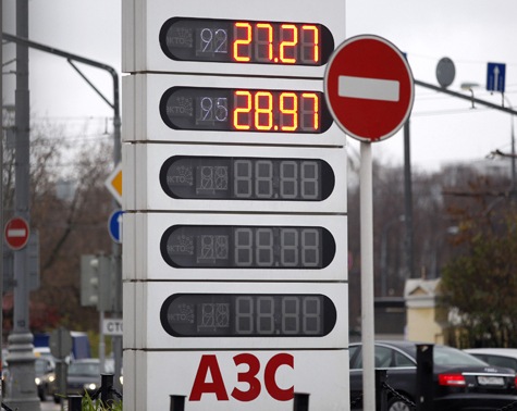 1 марта истекает срок моратория на рост цен на топливо