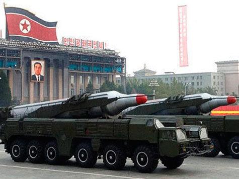КНДР усилила ракетную группировку на побережье