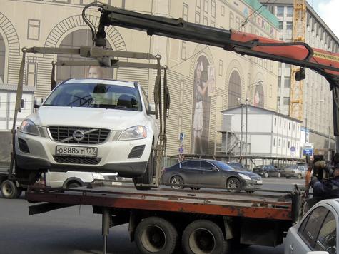 Москвичам предложили платную эвакуацию