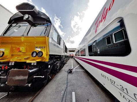 Российские поезда будут менять колею прямо на ходу