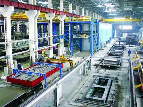 Темпы производства стройматериалов и оборудования заметно увеличились