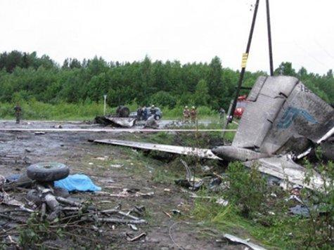 Ту-134 под Петрозаводском угробил пьяный штурман. ОТЧЕТ МАК