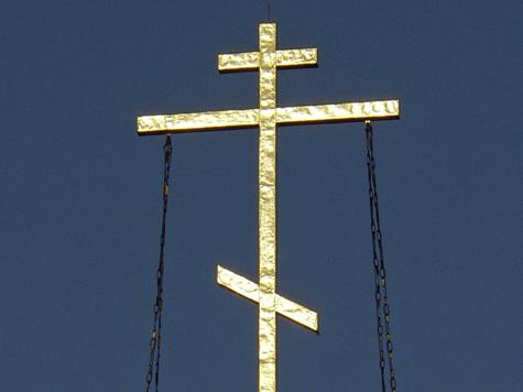 В православной церкви устроили погром