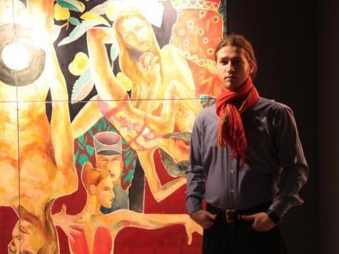 Во Франкфурте представили «Видение» Миши Левина