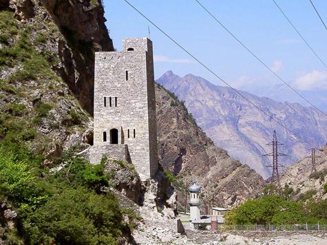 В полдневный жар в долине Дагестана
