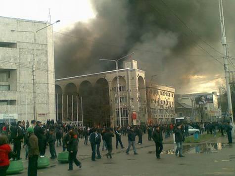 Спецслужбы Киргизии нашли виновных в погромах