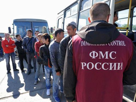 Мигранты из лагеря в Гольяново стали покидать Россию