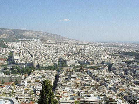 Нелегальные мигранты подняли бунт в лагере в Афинах
