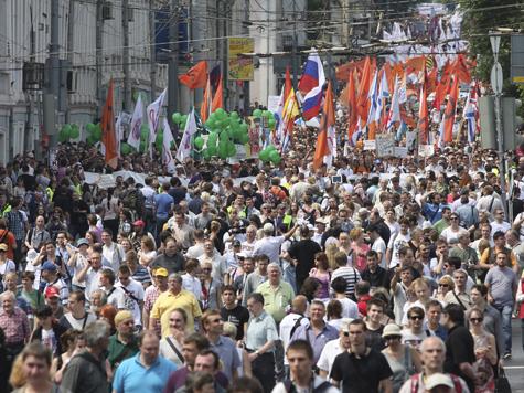 Россияне хотят загнать протест в резервацию