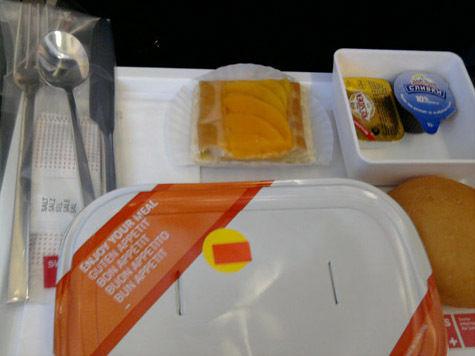 Отмена горячего питания в самолетах не сможет повлиять на цену авиабилетов