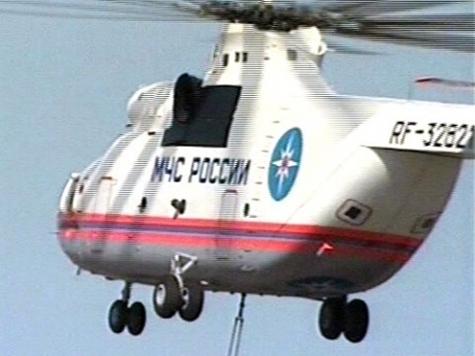 Вертолет Ми-26 аварийно сел в Югре