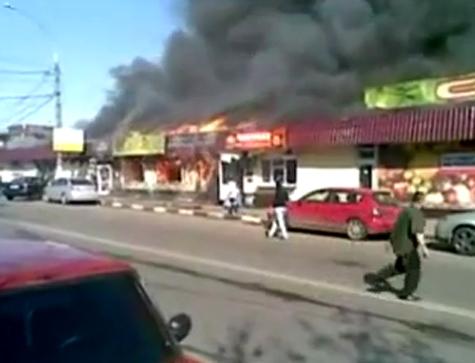 На юге Москвы сгорел