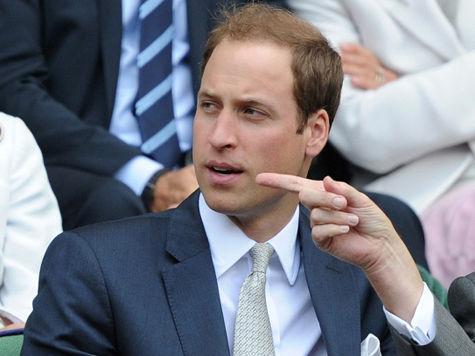 Будущий отец принц Уильям пошел на нарушение протокола