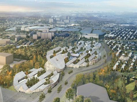 Архитекторы рассказали «МК», как будет выглядеть научный городок в Сколкове