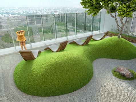 Здесь будет домик-сад
