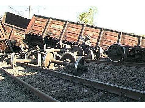 В Дагестане пустили под откос поезд