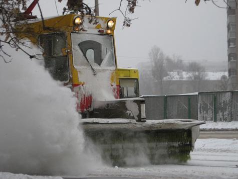 Рабочий стал жертвой снегопада