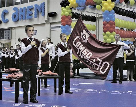 Легендарная борцовская школа «Самбо-70» отметила 42-й день рождения
