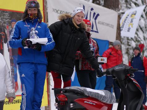 Победители детской лыжной гонки «МК» увезли домой мопеды, ноутбуки, планшетники и телефоны
