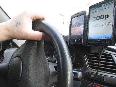 Профессионалы уходят из такси