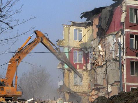 Столичные власти опубликовали адреса сносимых пятиэтажек