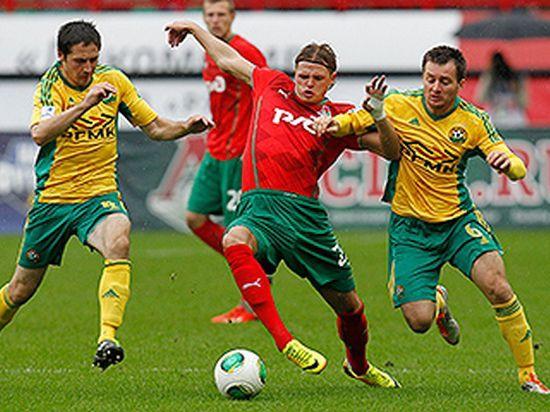 «Железнодорожники» вышли на первое место чемпионата России по футболу