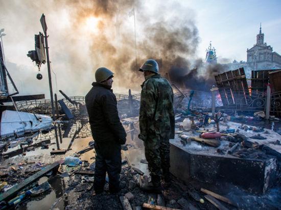 Киев превращается в Грозный. Оппозиция