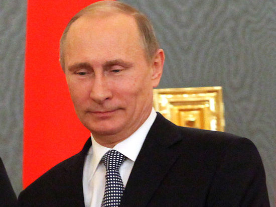 Владимир Путин и Элтон Джон