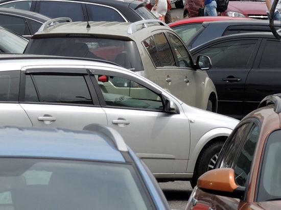 Семь машин угодили вяму наЗвенигородском шоссе