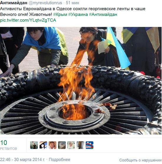 Активистка Майдана: