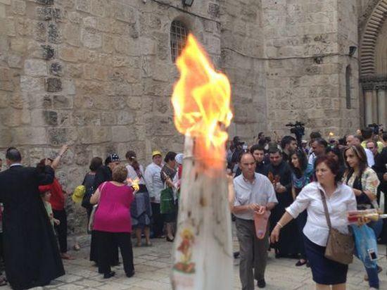 Главное - чувства верующих, а не источник пламени