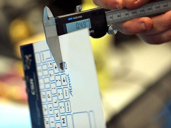 В Кембридже разработали тончайшую тактильную беспроводную клавиатуру с Bluetooth 4.0