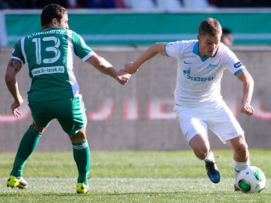 Санкт-петербургский клуб не смог одолеть «Терек»