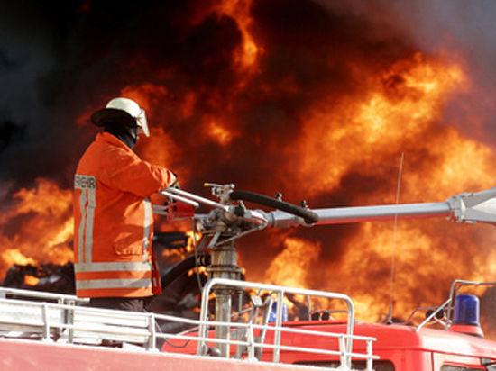 Герой-пожарный пострадал, спасая завод в Буденновске