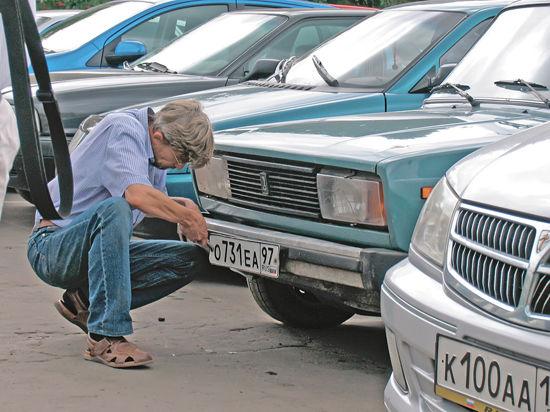 Уголовное преследование людей, промышляющих кражей автомобильных номеров, проблемы не решит