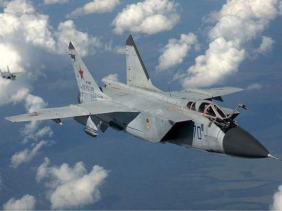 Истребитель МиГ-31 разбился в Приморье