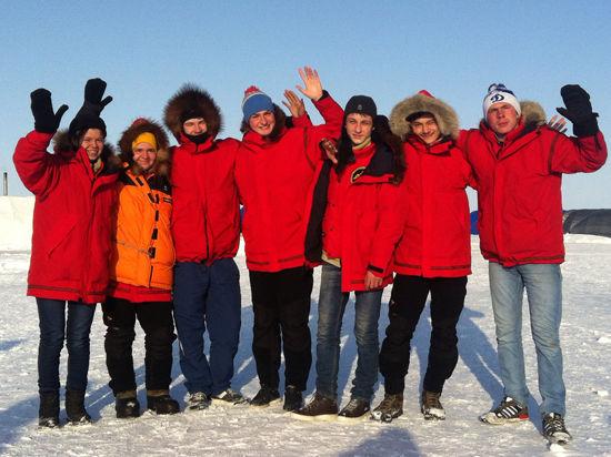 Успехом закончилась экспедиция «Северный полюс-2014»