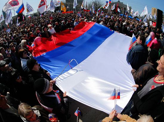 Провозглашена независимость Донецкой народной республики